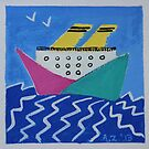 Paper boat by AgnesZirini