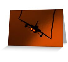 RAF Tornado F3 - raw power Greeting Card