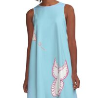 Butterfly Duo A-Line Dress