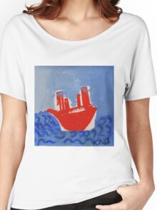 red boat Women's Relaxed Fit T-Shirt