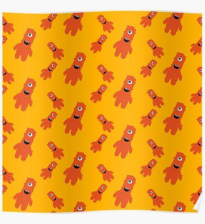 Orange Monster   Poster