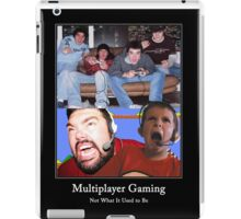 Multiplayer Gaming - Colour iPad Case/Skin