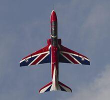 RAF Union Jack Hawk by captureasecond