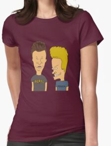 beavis and butthead Womens Fitted T-Shirt