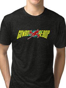 Cowboy Bebop Yellow Logo Tri-blend T-Shirt