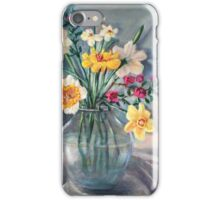 Spring Beauties In A Glass Vessel iPhone Case/Skin