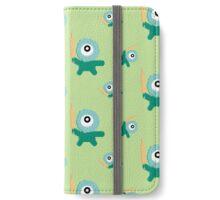 Green kitchen Monster   iPhone Wallet/Case/Skin