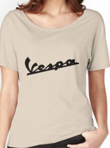 Large Vespa T Women's Relaxed Fit T-Shirt