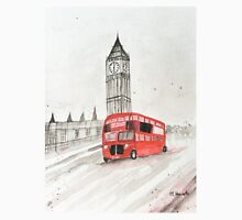 London red bus painting  Unisex T-Shirt