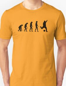 Evolved to play Soccer Unisex T-Shirt