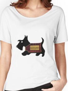 Commonwealth Games Opening Ceremony Scottie Dog 'Scotland' Women's Relaxed Fit T-Shirt