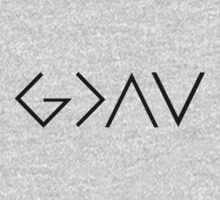 God Is Greater Than the Highs and Lows One Piece - Short Sleeve