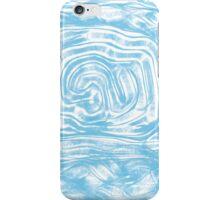 Indie Blue Mess iPhone Case/Skin