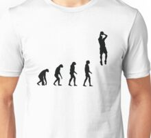 Evolved to play Basketball Unisex T-Shirt