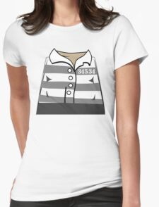 Robber Thief Minifig Womens Fitted T-Shirt