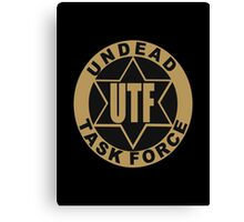 UTF – Undead Task Force, Caity Lotz Canvas Print