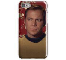 Floral Jim Kirk iPhone Case/Skin