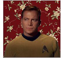Floral Jim Kirk Photographic Print