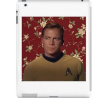 Floral Jim Kirk iPad Case/Skin