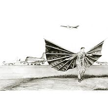 man with wings by art-koncept