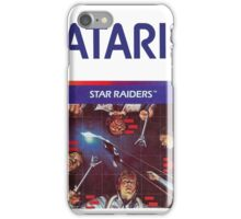 Atari Star Raiders Transparent  iPhone Case/Skin