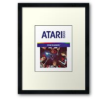 Atari Star Raiders Transparent  Framed Print