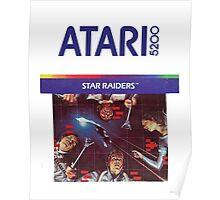 Atari Star Raiders Transparent  Poster