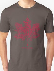the tragically hip red Unisex T-Shirt