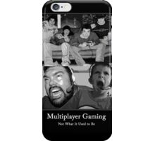 Multiplayer Gaming - Black and White iPhone Case/Skin