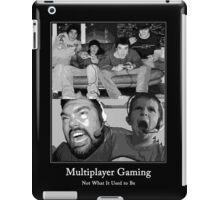 Multiplayer Gaming - Black and White iPad Case/Skin