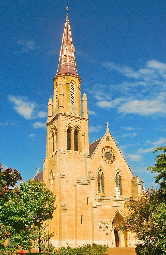 St Mary's of Mudgee by Penny Smith
