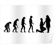 Evolved to Engagement Poster