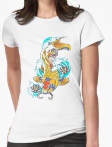 koi_fish Womens Fitted T-Shirt