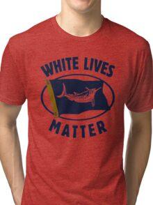 White Marlin Lives Matter Tri-blend T-Shirt