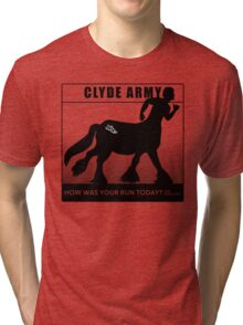 Clyde Army 2016/black Tri-blend T-Shirt