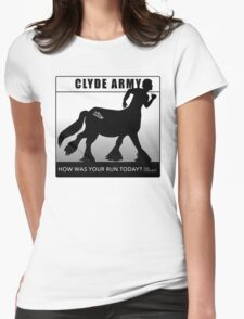 Clyde Army 2016/black Womens Fitted T-Shirt