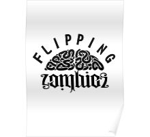 Flipping Zombies Poster