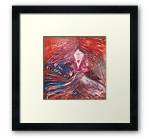 Letting Go With The Wind Framed Print