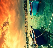 Boats in Italy (phone case) by PhotoPerocsenyi