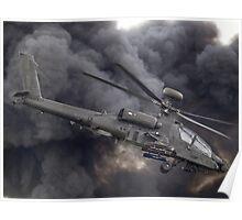 British Army Apache Poster