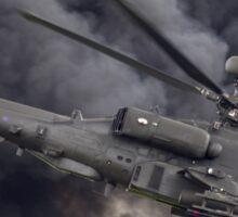 British Army Apache Sticker