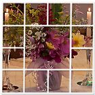 Flowers For Ruby Photo Collage  by Sandra Foster