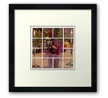 Flowers For Ruby Photo Collage  Framed Print