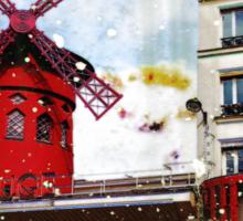 Parisian Mosaic - Piece 22 - French Cabaret Sticker