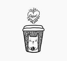 doodle coffee cat Unisex T-Shirt