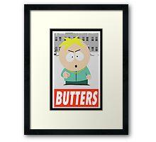 (CARTOON) Butters Framed Print