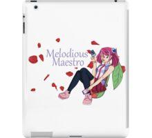 Yuzu Hiragi - Melodious Maestro iPad Case/Skin