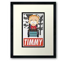 (CARTOON) Timmy Framed Print