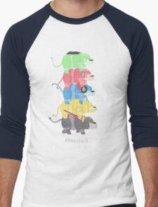 Lion Stack Men's Baseball ¾ T-Shirt