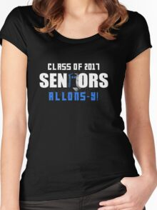 Class Of 2017 Seniors  Doctor Who Women's Fitted Scoop T-Shirt